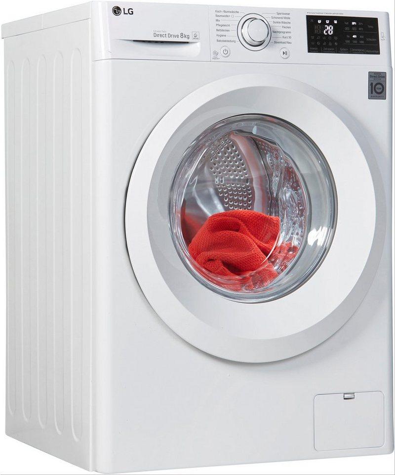 LG Waschmaschine F 14WM 8LN0, 8 kg, 1400 U/Min
