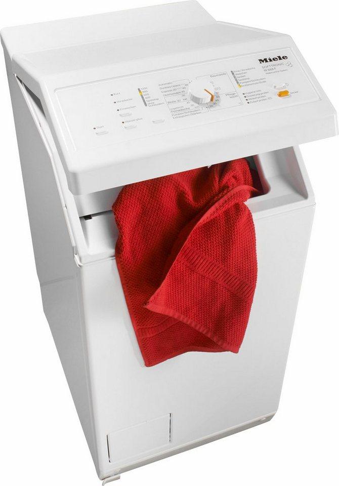 Miele Waschmaschine Toplader W 668 F WCS, 6 kg, 1200 U/Min