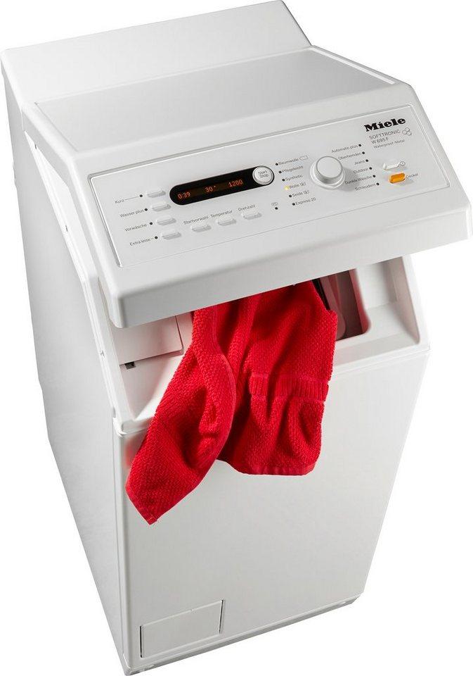 Miele Waschmaschine Toplader W 695 F WPM, 6 kg, 1400 U/Min