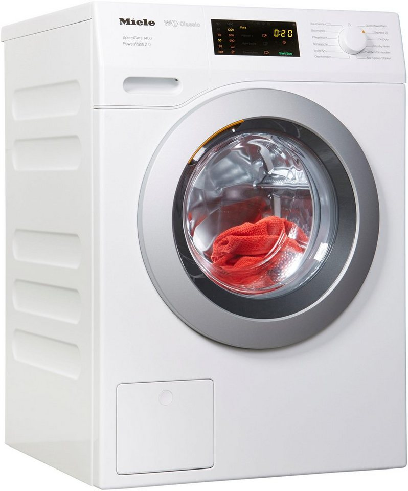 Miele Waschmaschine WDB 330 WPS SpeedCar, 7 kg, 1400 U/Min