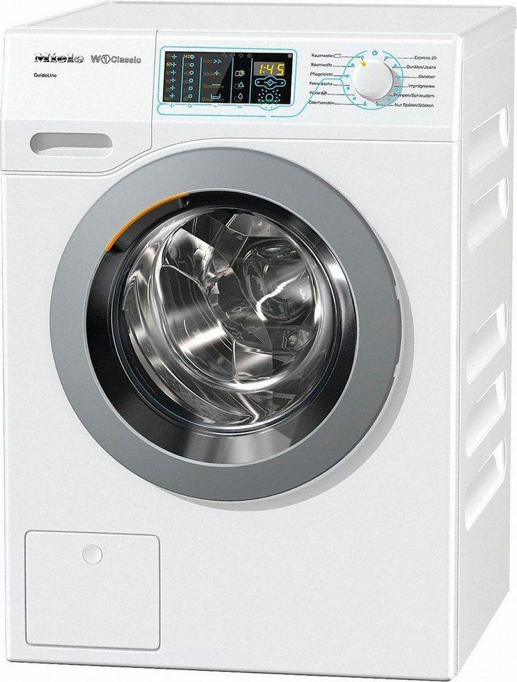 Miele Waschmaschine WDD130WPS D LW Guide, 8 kg, 1400 U/Min, Eignung nur für Menschen mit Sehbehinderung