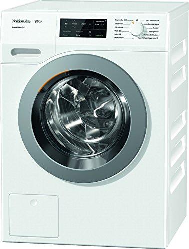 Miele WCE 330 WPS Waschmaschine / Frontlader / Energieklasse A+++ / 157 kWh/Jahr / 1400 UpM / 8 kg Schontrommel / 59min-Waschprogramm mit PowerWash 2.0 / Vorbügel-Funktion für leichteres Bügeln
