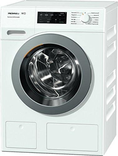 Miele WCE 670 WPS Waschmaschine / Frontlader / Energieklasse A+++ / 176 kWh/Jahr / 1400 UpM / 8 kg Schontrommel / Automatische Dosierung / Vorbügel-Funktion für leichteres Bügeln / Startvorwahl