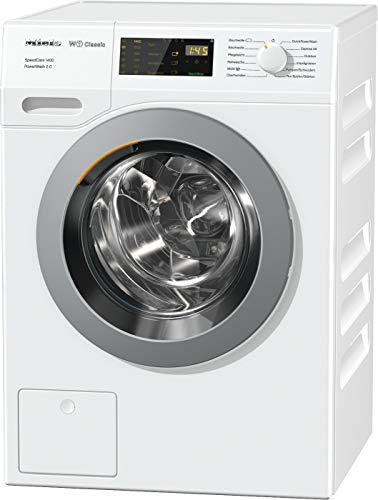Miele WDB 330 WPS SpeedCare Frontlader Waschmaschine / mit 7 kg Schontrommel für schonendes Waschen / Miele Waschmaschine für spezielle Anwendungen, weiß