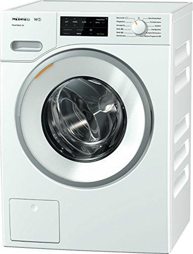 Miele WWE 320 WPS Waschmaschine / Frontlader / Energieklasse A+++ / 157 kWh/Jahr / 1400 UpM / 8 kg Schontrommel / 59min-Waschprogramm mit PowerWash 2.0 / Vorbügel-Funktion für leichteres Bügeln