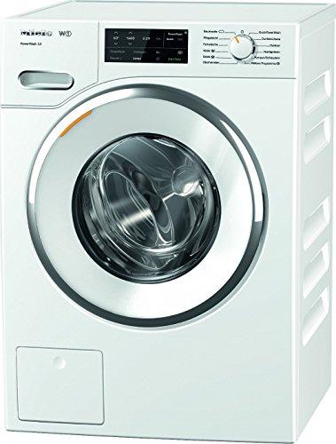 Miele WWI 320 WPS Waschmaschine / Frontlader / Energieklasse A+++ / 130 kWh/Jahr / 1600 UpM / 9 kg Schontrommel / 59min-Waschprogramm mit PowerWash 2.0 / Vorbügel-Funktion für leichteres Bügeln