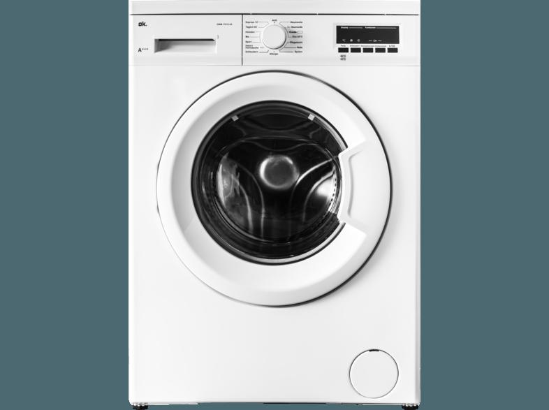 OK. OWM 17412 A3 Waschmaschine (7 kg, 1400 U/Min., A+++)