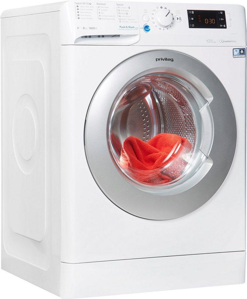 Privileg Family Edition Waschmaschine Family Edition PWF X 863, 8 kg, 1600 U/Min, 50 Monate Herstellergarantie