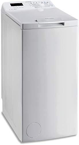 Privileg PWT D61253P (DE) Toplader Waschmaschine/A+++ / 6 kg / 1200 UpM/Startzeitvorwahl/Extra Waschen/Extra Spülen/Wolle-Programm/Wasserschutz/RapidWash-Programme unter 59 Minuten