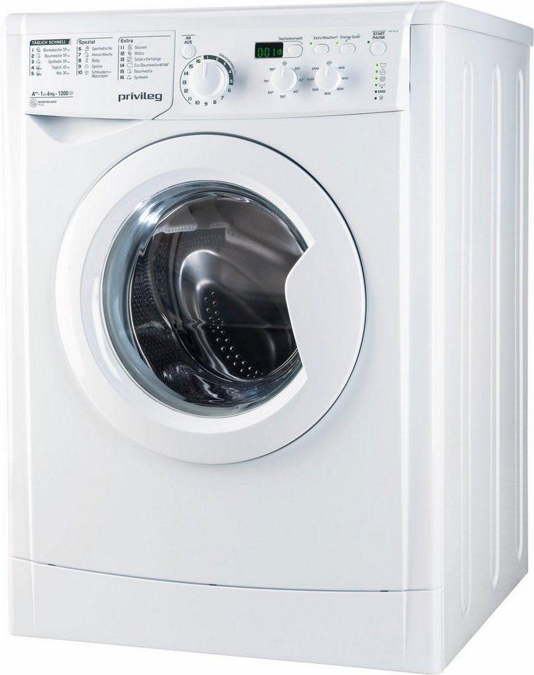 Privileg Waschmaschine PWF M 622, 6 kg, 1200 U/Min