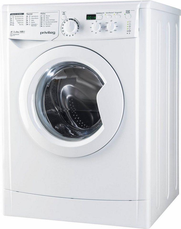 Privileg Waschmaschine PWF M 642, 6 kg, 1400 U/Min