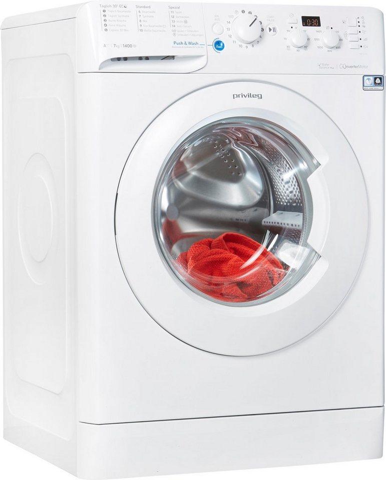 Privileg Waschmaschine PWF X 743, 7 kg, 1400 U/Min