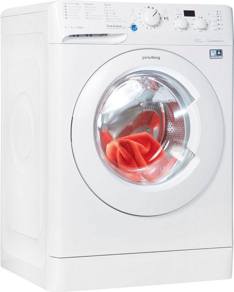 Privileg Waschmaschine PWF X 763, 7 kg, 1550 U/Min