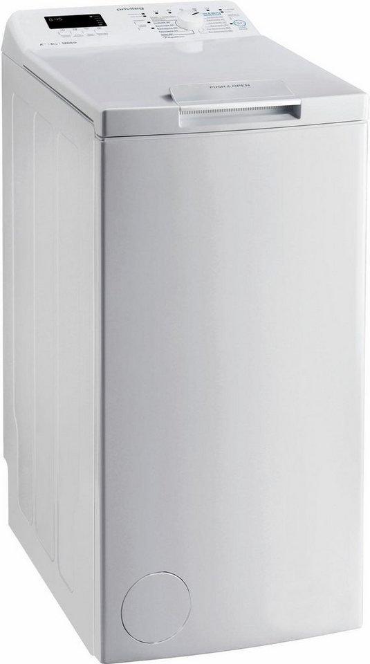 Privileg Waschmaschine Toplader PWT D61253P, 6 kg, 1200 U/Min