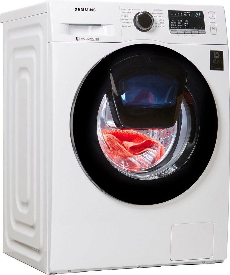 Samsung Waschmaschine AddWash WW4500 WW9EK44205W/EG, 9 kg, 1400 U/Min, 4 Jahre Garantie & Altgerätemitnahme