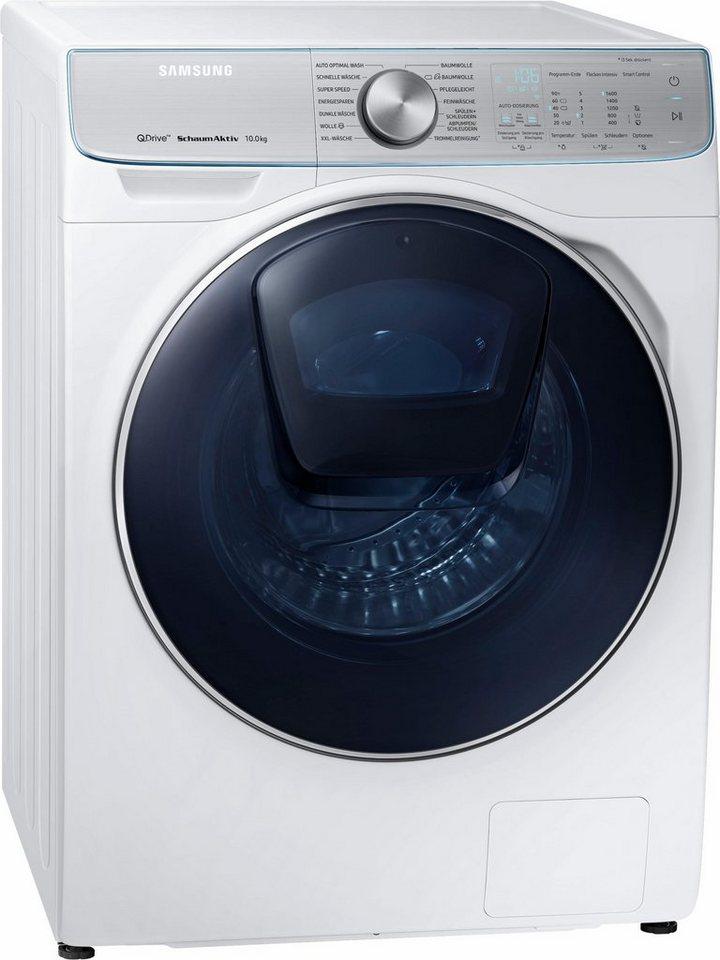 Samsung Waschmaschine QuickDrive AddWash WW8800 WW10M86BQOA, 10 kg, 1600 U/Min, Automatische Waschmitteldosierung