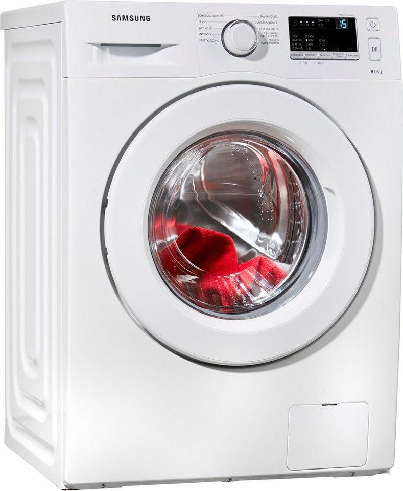 Samsung Waschmaschine WW3000 WW80J3470KW/EG, 8 kg, 1400 U/Min