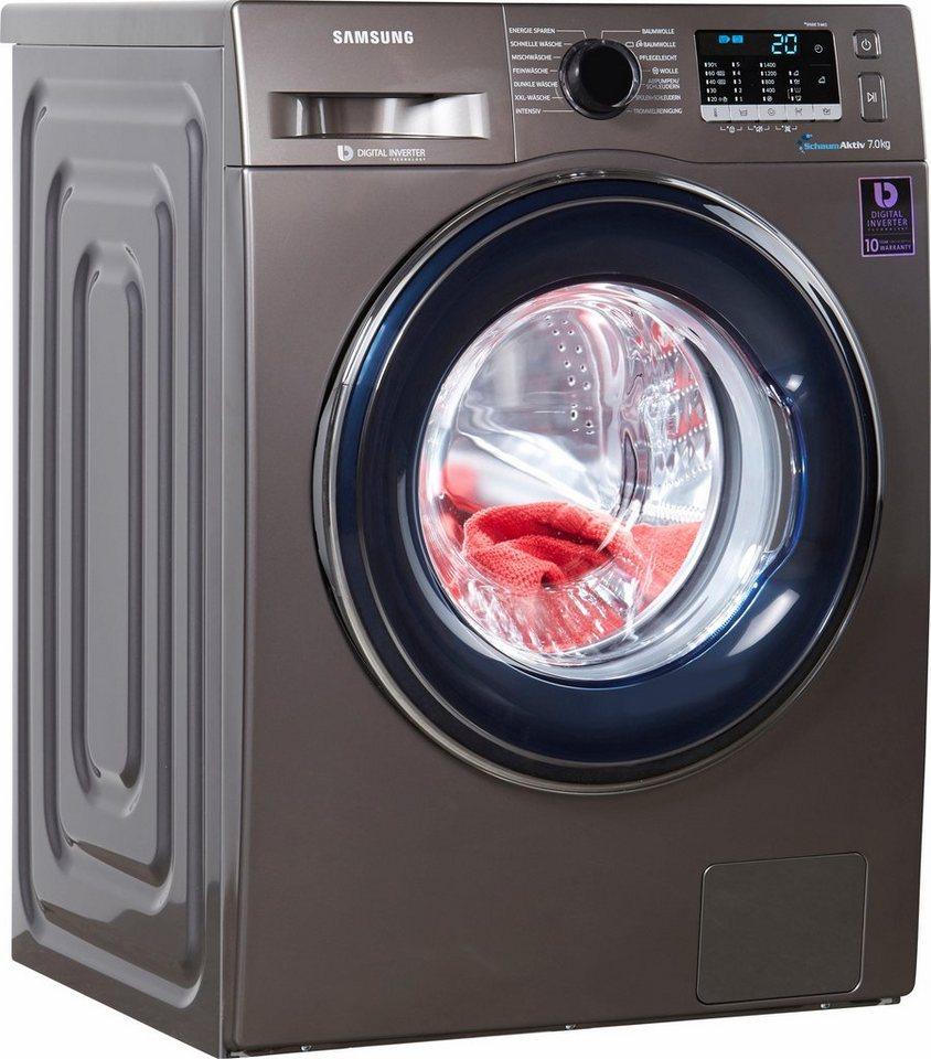 Samsung Waschmaschine WW5000 WW70J5435FX/EG, 7 kg, 1400 U/Min