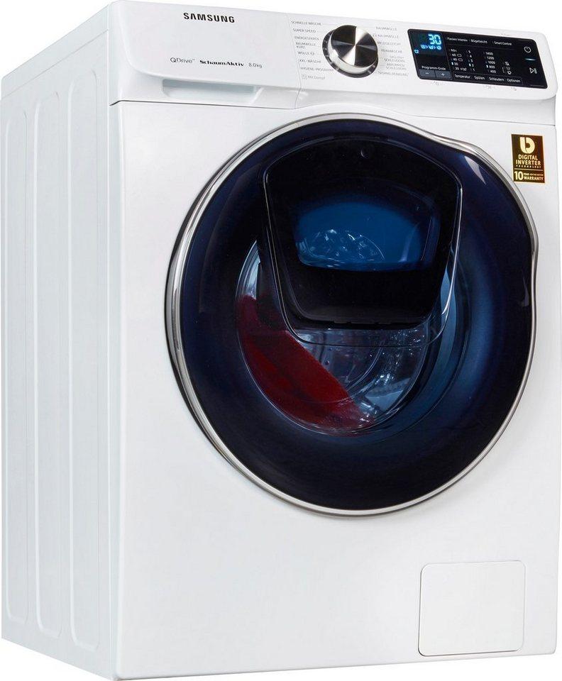 Samsung Waschmaschine WW6900 QuickDrive WW8GM642O2W/EG, 8 kg, 1400 U/Min