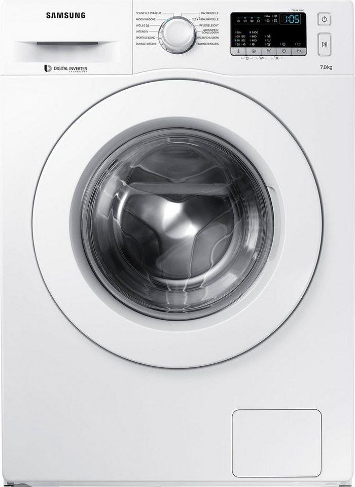 Samsung Waschmaschine WW70J44A3MW/EG, 7 kg, 1400 U/Min