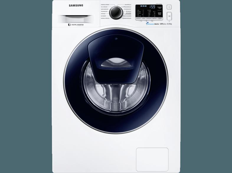SAMSUNG WW 80 K 52 A0VW/EG Waschmaschine (8 kg, 1200 U/Min., A+++)