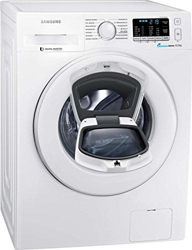 Samsung WW80K5400WW/EG Waschmaschine FL / A+++ / 116 kWh/Jahr / 1400 UpM / 8 kg / Add Wash / Smart Check / Digital Inverter Motor / weiß