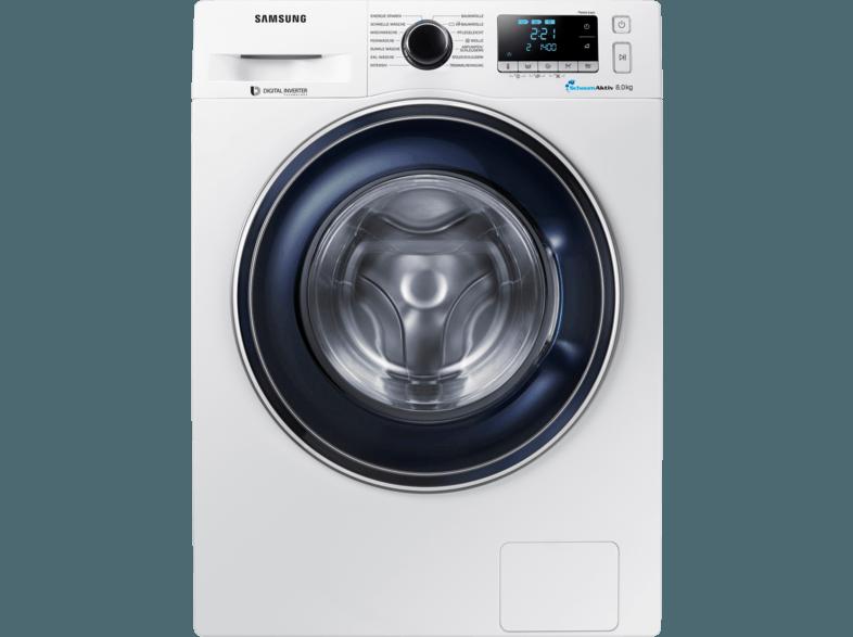 SAMSUNG WW81J5436FW/EG Waschmaschine (8 kg, 1400 U/Min., A+++)