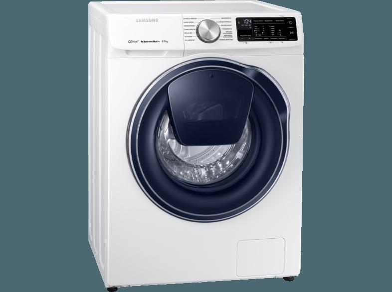 SAMSUNG WW81M642OPW/EG QuickDrive Waschmaschine (8 kg, 1400 U/Min., A+++)