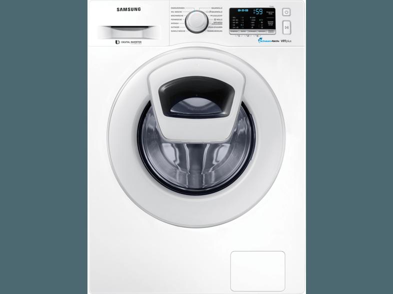 SAMSUNG WW82K52A0XW/EG Waschmaschine (8 kg, 1200 U/Min., A+++)