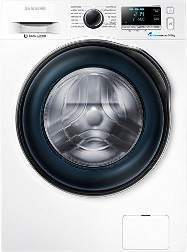 Samsung WW90J6400CWEG Waschmaschine / Frontlader / A 1400 / UpM 9 kg / SchaumAktiv / Trommelreinigung / weiß