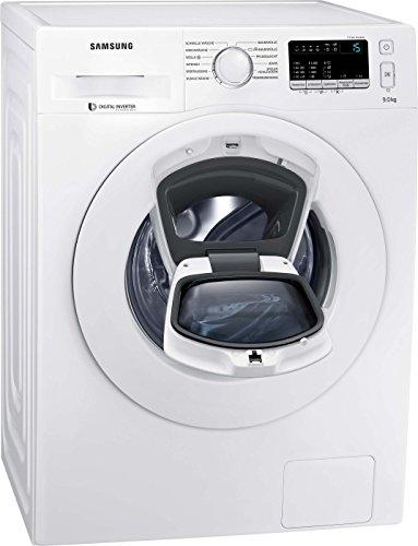 Samsung WW90K4420YW/EG AddWash Waschmaschine Frontlader/ A+++/1400UpM/9 kg/AddWash/Eco-Funktion/SmartCheck/weiß