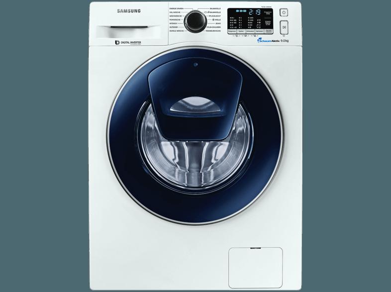 SAMSUNG WW90K5400UW Waschmaschine (9 kg, 1400 U/Min., A+++)
