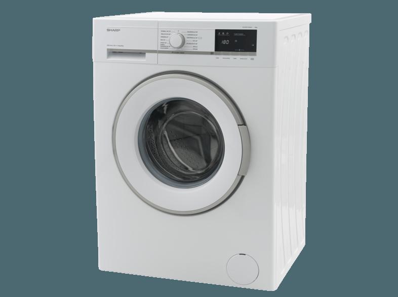 SHARP ES-GFB7143W3-DE Waschmaschine (7.0 kg, 1400 U/Min., A+++)
