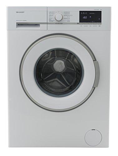 Sharp ES-GFB7143W3-DE Waschmaschine Frontlader / A+++ / 7 kg / 1400 U/min. / 15 Programme / 15 Min. Kurzprogramm / AllergySmart / Startzeitvorwahl 23 Stunden / AquaStop / Kindersicherung / weiß