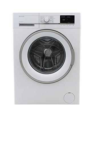 Sharp ES-GFB7164W3-DE Waschmaschine / A+++ / 1600 UpM / 7 kg / Bubble Drum / Aquastop / Schaumschutz / LED-Anzeige / Allergy Smart / weiß