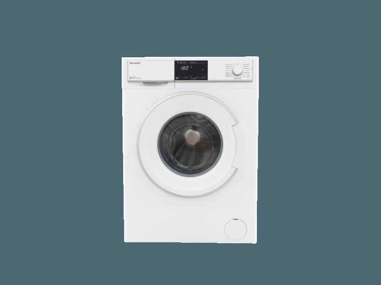 SHARP ES-HFB7143W3-DE Waschmaschine (7 kg, 1400 U/Min., A+++)