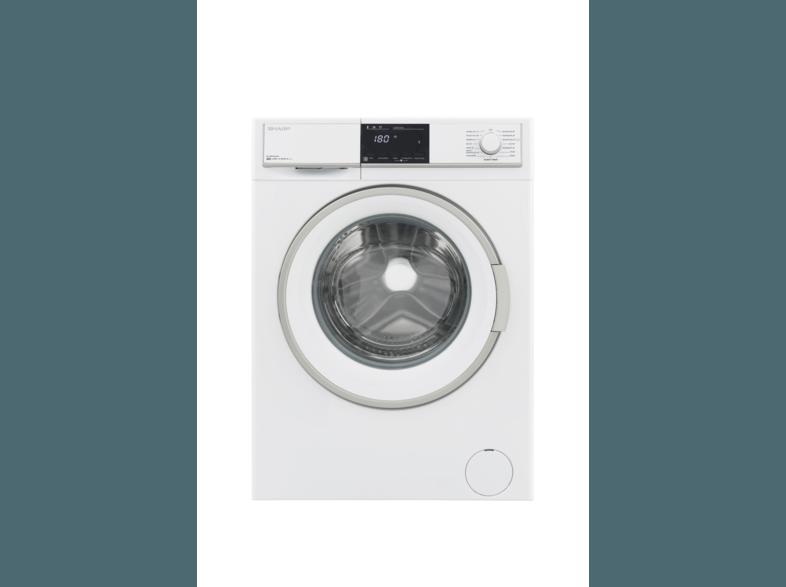 SHARP ES-HFB9143W3-DE Waschmaschine (9 kg, 1330 U/Min., A+++)