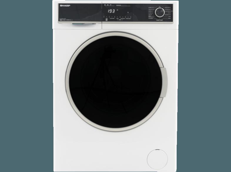 SHARP ES-HFH014AW3-DE Waschmaschine (10 kg, 1330 U/Min., A+++)