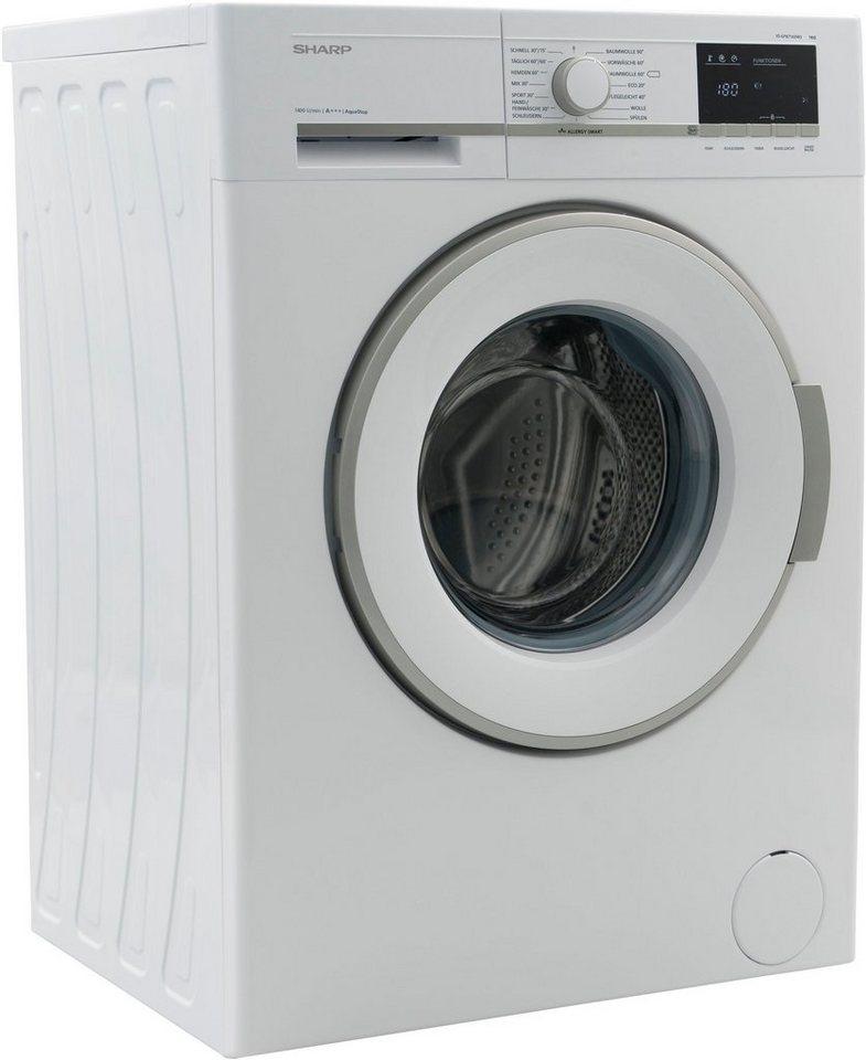 Sharp Waschmaschine ES-GFB7143W3-DE, 7 kg, 1400 U/Min