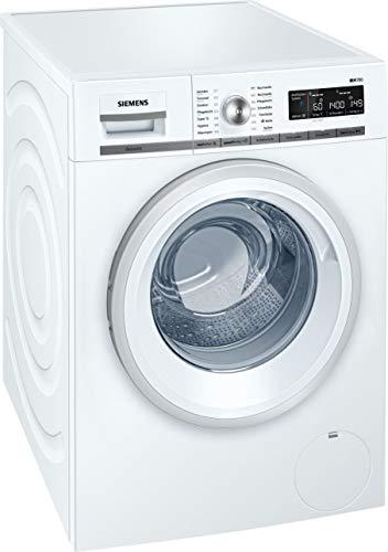 Siemens iQ700 WM14W570 Waschmaschine / 8,00 kg / A+++ / 196 kWh / 1.400 U/min / Schnellwaschprogramm / Nachlegefunktion / aquaStop /