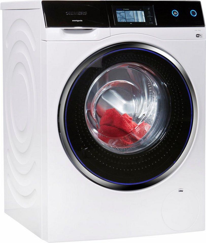 SIEMENS Waschmaschine avantgarde WM14U840EU, 10 kg, 1400 U/Min, i-Dos und HomeConnect