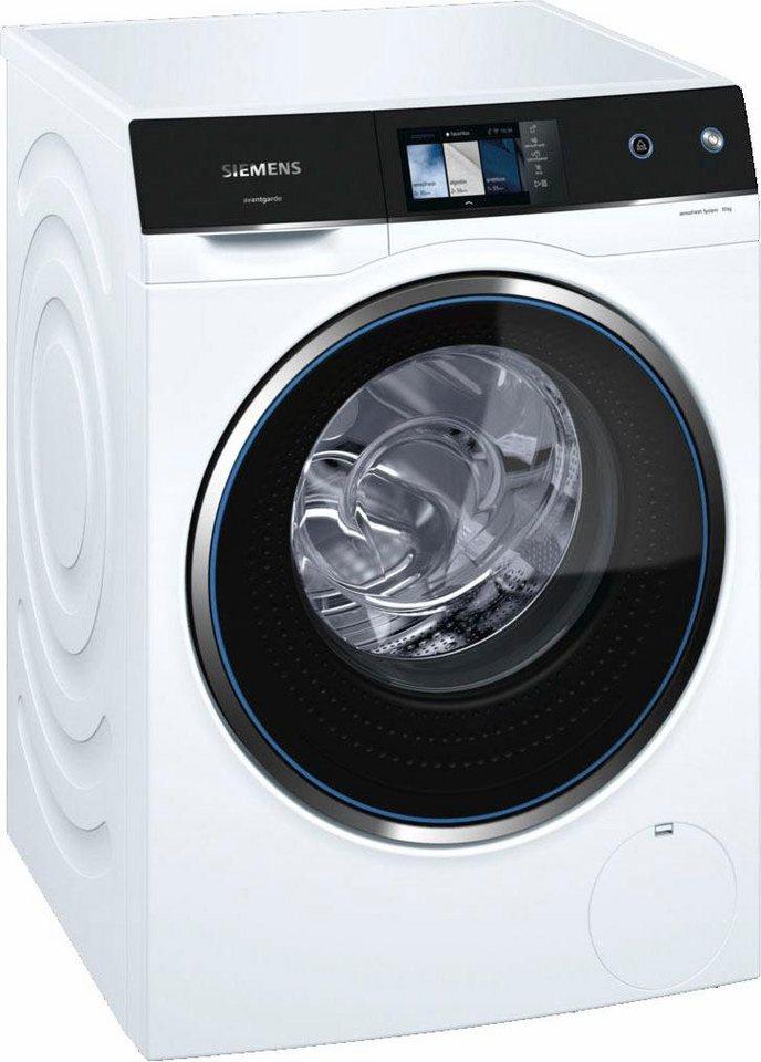 SIEMENS Waschmaschine avantgarde WM14U940EU, 10 kg, 1400 U/Min, sensoFresh