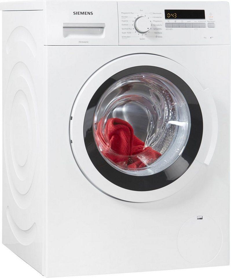 SIEMENS Waschmaschine iQ300 WM14K2ECO, 8 kg, 1400 U/Min