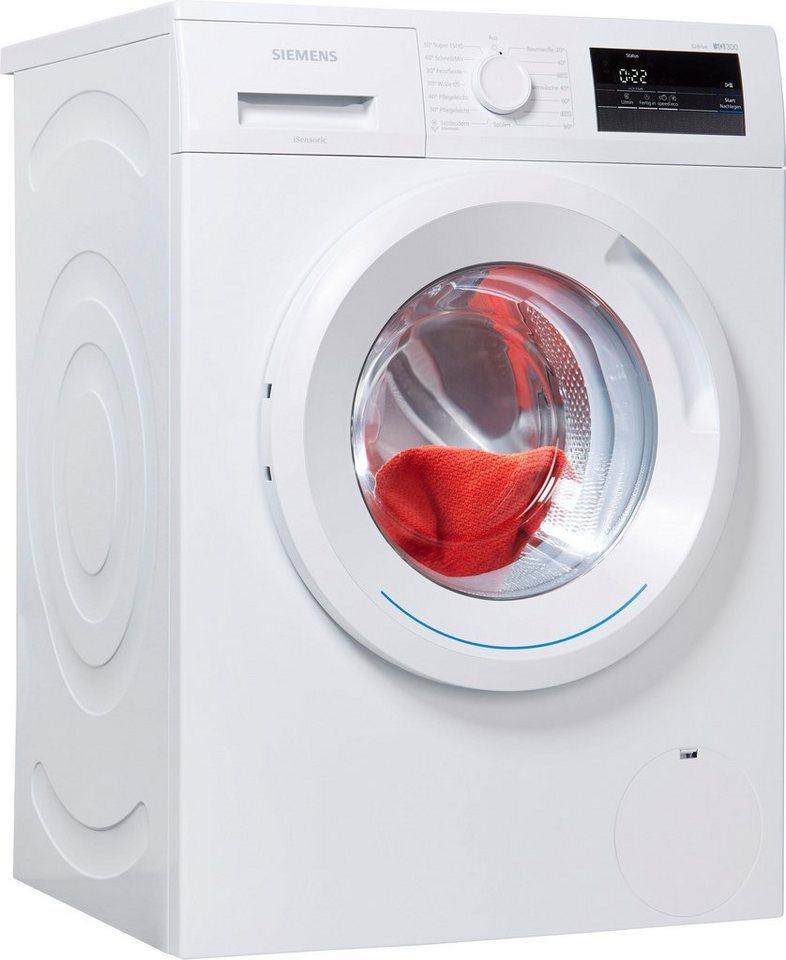 SIEMENS Waschmaschine iQ300 WM14N060, 6 kg, 1400 U/Min