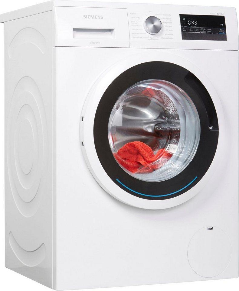 SIEMENS Waschmaschine iQ300 WM14N121, 7 kg, 1400 U/Min