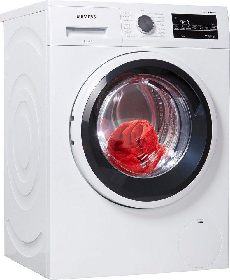 SIEMENS Waschmaschine iQ500 WM14T421, 7 kg, 1400 U/Min