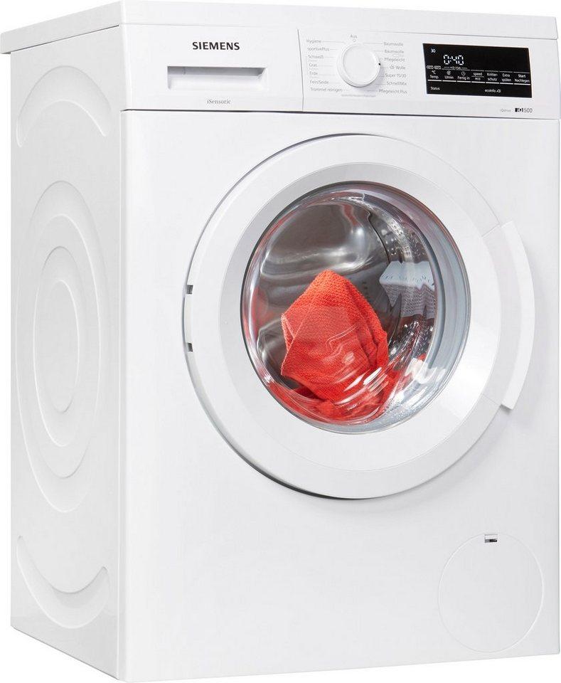SIEMENS Waschmaschine iQ500 WU14Q420, 8 kg, 1400 U/Min