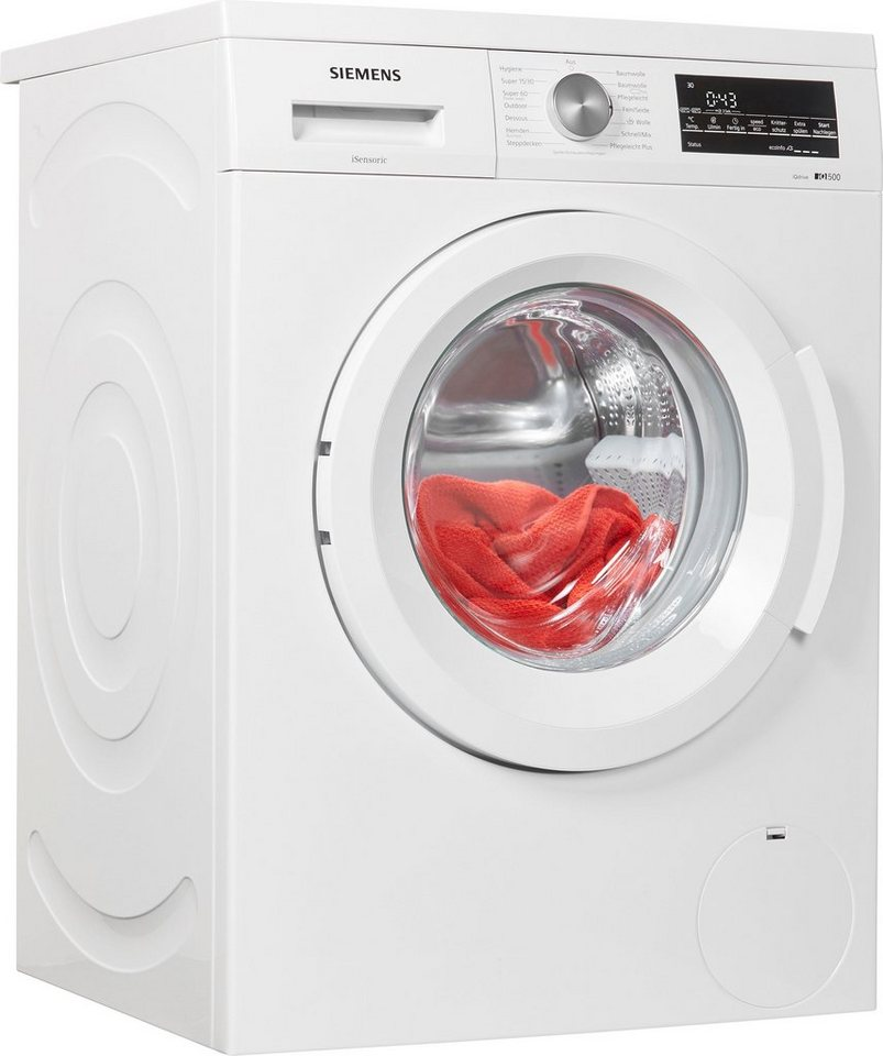 SIEMENS Waschmaschine iQ500 WU14Q440, 7 kg, 1400 U/Min