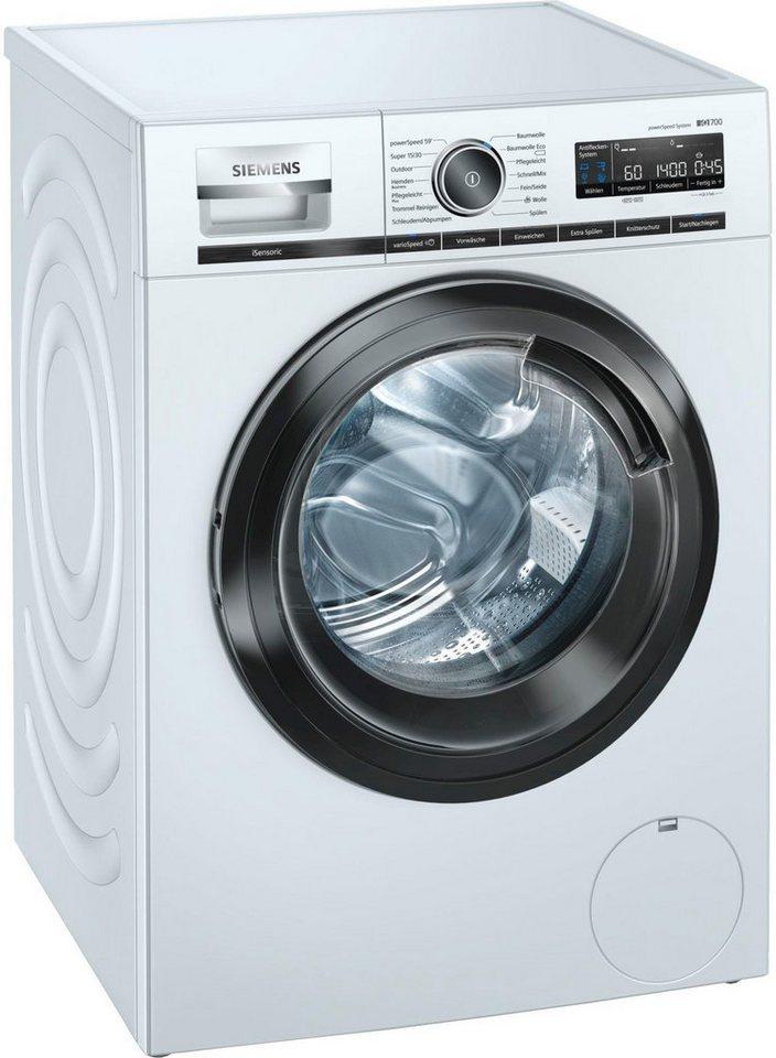 SIEMENS Waschmaschine iQ700 WM14VMB1, 9 kg