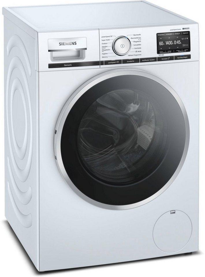 SIEMENS Waschmaschine iQ800, WM14VG40, 9 kg, 1400 U/Min